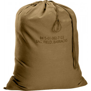 "Coyote Brown Military Barracks Laundry Bag (24"" x 32"")"