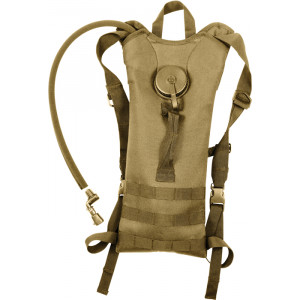 Coyote Brown Military Backstrap Tactical Hydration System
