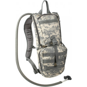 ACU Digital Camouflage Military Rapid Tactical Trek Hydration Pack