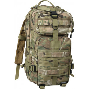 Multi Cam Military MOLLE Medium Transport Assault Pack Backpack