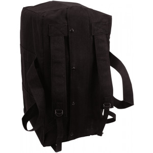 Black Israeli Mossad Type Tactical Cargo Bag