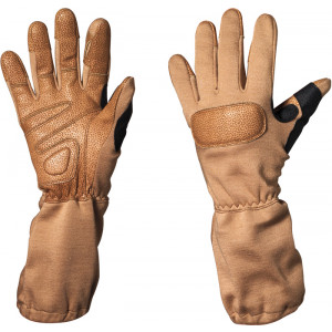Tan Special Forces Aramid Fiber Tactical Gloves