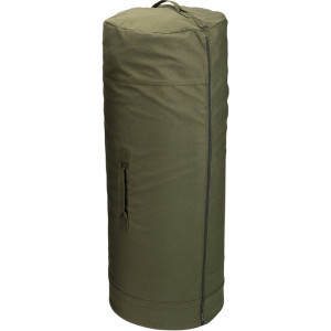 "Olive Drab Side Zipper Canvas Duffle Bag (30"" x 50"")"