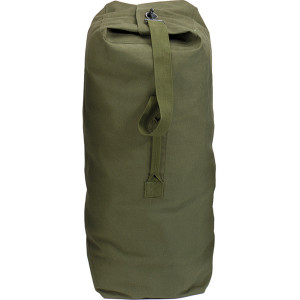 "Olive Drab Extra Large Top Load Heavyweight Canvas Duffle Bag 25"" x 42"""