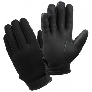 Black Insulated Heavy Duty Military Waterproof Cold Weather Gloves