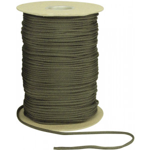 Olive Drab 550LB Type III Nylon Paracord Rope Spool 600'