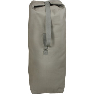 "Foliage Green Top Load Canvas Duffle Bag (30"" x 50"")"