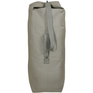 "Foliage Green Extra Large Top Load Heavyweight Canvas Duffle Bag 25"" x 42"""