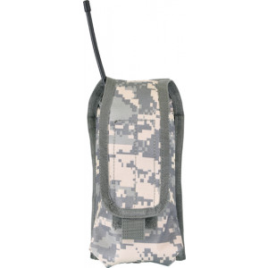 ACU Digital Camouflage MOLLE Compatible Radio Pouch