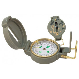 ACU Digital Camouflage Tactical Military Marching Lensatic Compass