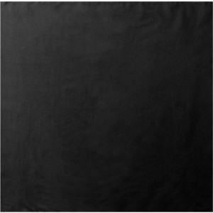 "Black Solid Sport Biker Cotton 22"" x 22"" Bandana"
