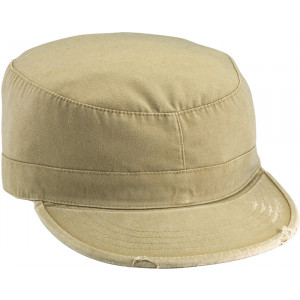 Khaki Vintage Military Patrol Cap Fatigue Cap
