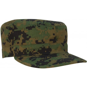 Woodland Digital Camouflage Military Patrol Fatigue Cap