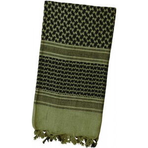 Olive Drab Shemagh Lightweight Arab Tactical Military Desert Keffiyeh Scarf