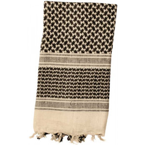 Tan Shemagh Lightweight Arab Tactical Military Desert Keffiyeh Scarf