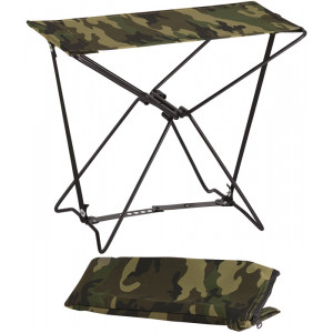 Woodland Camouflage Military Folding Outdoor Camping Stool