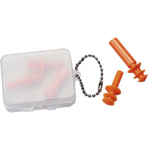 Orange Genuine GI Reusable Earplugs