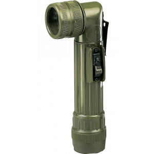 Olive Drab C-Cell Anglehead Tactical Flashlight