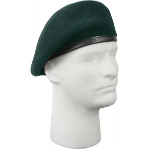 Green Military Inspection Ready US Army Special Forces No Flash Beret