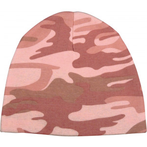 Baby Pink Camouflage Infant Crib Cap