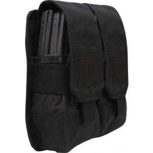 Black Military Universal Rifle Mag MOLLE Pouch