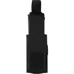 Black Military Single Pistol Mag MOLLE Pouch