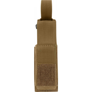 Coyote Brown Military Single Pistol Mag MOLLE Pouch