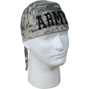 ACU Digital Camouflage Army Biker Headwrap Bandanna/Do-Rag