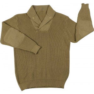 Khaki Vintage Military WWII Mechanics Sweater