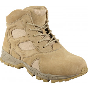 "Desert Tan Military Forced Entry 6"" Tactical Deployment Boot"