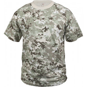 Total Terrain Camouflage Military Short Sleeve T-Shirt
