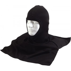 Black Military Winter Balaclava Mask w/ Dickie