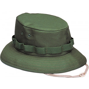 Olive Drab Military Wide Brim Jungle Hat