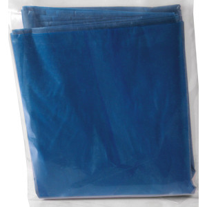 Blue Portable Camp Toilet Replacement Bags - 10 PACK