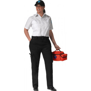 Black EMT Tactical 9 Pocket Uniform Womens Pants
