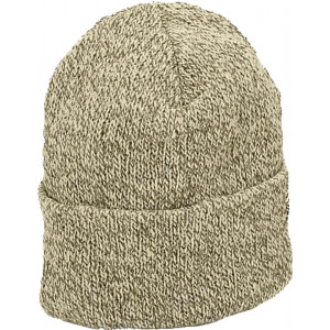 Grey Ragg Wool Hat Knitted Outdoor Military Winter Cap