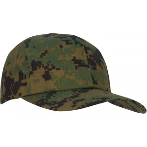 Kid's Woodland Digital Camouflage Low Profile Adjustable Cap