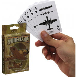 WWII Spotter Plastic Playing Cards