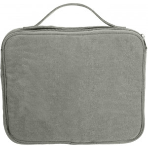Olive Drab Canvas iPad & Netbook Sleeve Pouch Padded Vintage Bag