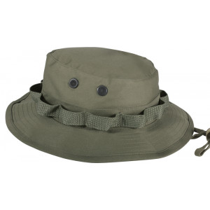 Olive Drab Military Wide Brim Boonie Hat