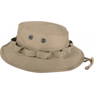 Khaki Military Wide Brim Boonie Hat