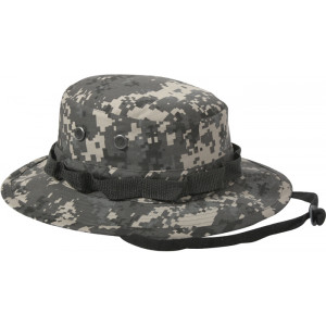 Subdued Urban Digital Camouflage Military Wide Brim Boonie Hat