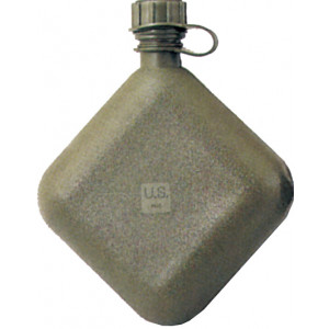Olive Drab Military 2 Quart Bladder Canteen