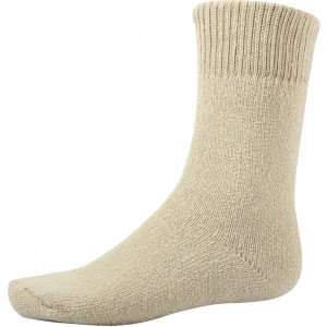 Khaki Heavy Weight Thermal Boot Socks USA Made