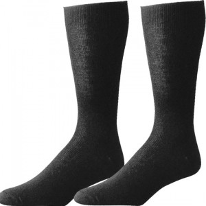 Black Polypropylene Genuine GI Sock Liner Pair USA Made