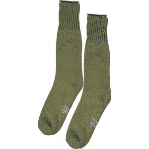 Olive Drab Heavyweight Cold Weather Thermal Boot Socks Pair