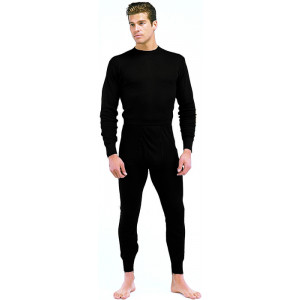 Black Performance Bottoms Pants