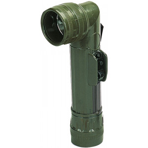 Olive Drab D-Cell Anglehead Tactical Flashlight