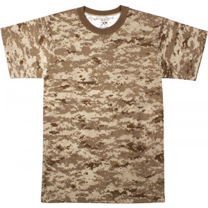Desert Digital Camouflage Kids Military Tactical T-Shirt