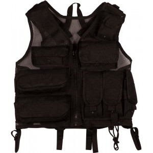 Black Military Tactical SWAT Ballistic Nylon Utility Vest
